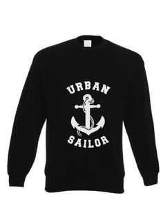 This is BRAND new gear for the inner sailor in you to wear or use as you wander from one urban setting to the other. It´s all about your Urban Soul, Sailor! Black Logo Sweatshirt - cotton and polyster, style! Urban Setting, Wander, Sailor, Brand New, Logos, Sweatshirts, Sweaters, Cotton, How To Wear