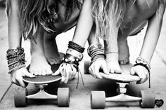 get a longboard . long boarding is actually so fun. I really want a board so I can get good at it Best Friend Goals, My Best Friend, Best Friends, Friends Girls, Girlfriends, Close Friends, Best Friend Pictures, Friend Photos, Bff Pictures