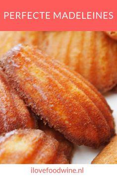 Recept: Perfecte madeleines: ultiem geluk - I Love Food & Wine Dutch Recipes, Irish Recipes, Pumpkin Recipes, Wine Recipes, Finger Desserts, Cookie Desserts, Cookie Recipes, Sweets Recipes, Baking Recipes