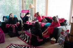 Mobile Spa Gallery - Feel Fabulous Mobile Spa, Spa Birthday Parties for Girls! Vancouver BC, Edmonton and Calgary AB