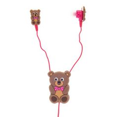 Teddy Earbuds with Winder