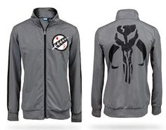 Geeky Star Wars and S.H.I.E.L.D Track Jackets