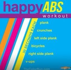 Quick and easy ab routine