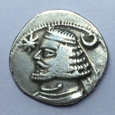 Parthian Orodes II King Of Parthia 55-36BC Arsacid Dynasty AR Drachm Coin #M28   eBay International Signs, Coins, Personalized Items, Ebay, Rooms