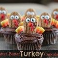Nutter Butter Turkey Cupcakes