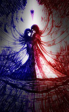by mystic spectrum Emo Cartoons, Emo Art, Creative Art, Spectrum, Mystic, Artist, Inspiration, Biblical Inspiration, Artists