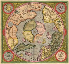 World map 16th century world maps of the northern hemisphere world map gumiabroncs Image collections