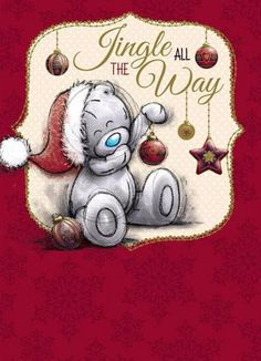 ♥ Tatty Teddy ♥  all the way... to Christmas.