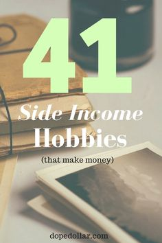 Need to make side income? Why not try a money making hobby! Because there's nothing better than having fun while making money! Here's 41 hobbies that make money to get you started. Hobbies That Make Money, Fun Hobbies, Make Money From Home, Way To Make Money, Make Money Online, How To Make, Popular Hobbies, Money Fast, Savings Planner