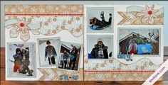 snow day 2-page layout