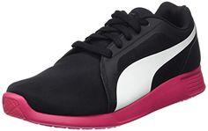 Puma ST Trainer Evo, Unisex-Erwachsene Sneakers, Schwarz (black-white-rose red 08), 40 EU (6.5 Erwachsene UK) - http://on-line-kaufen.de/puma/40-eu-puma-unisex-erwachsene-st-trainer-evo-11