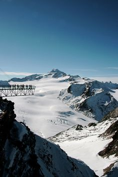 "Sölden - ""Sky walk"", Tyrol, Austria"