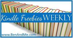 Kindle Freebies Weekly --  50 books currently #free for #Kindle. #ChristFic #kids #health #homemaking