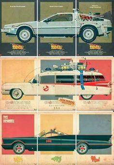 El desván del Freak: Tres coches, tres trilogías.