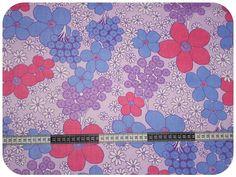 Floral retro vintage fabric - Etsy shop in Christchurch