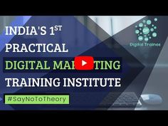 Digital Trainee Provides Practical Digital Marketing Courses in Pune focusing on practical Implementation and execution. Content Marketing, Digital Marketing, Marketing Institute, Classroom Training, Search Engine Marketing, Marketing Training, Google Ads, Create Website, Web Design