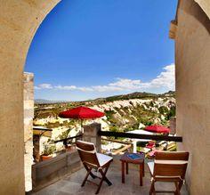Taşkonaklar, Uçhisar (Cappadocia), Turkey cave hotel