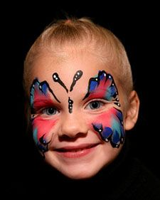 These quick and easy last-minute Halloween face-painting ideas are sure to be loved by all.