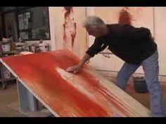 Mel McCuddin - Figurative Expressionist - YouTube