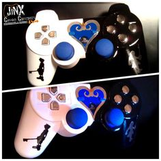 Kingdom Hearts PS3 controller. ~ Oh my. Is it wrong for me to want this so…                                                                                                                                                                                 Más