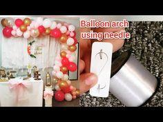 Balloon Arch Diy, Ballon Arch, Balloon Garland, Balloons, Rock And Roll Birthday, How To Make Balloon, Needle And Thread, First Birthdays, Diys