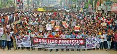 March for Gaza in Bangladesh.. #FreePalestine @SaveGazaProject