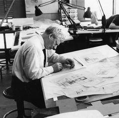 Louis Kahn, architect.