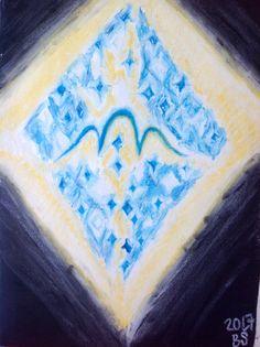 "Tu povedal Boh: ""Buď svetlo!"" a bolo svetlo. (Genezis 1:3 SSV) #be#the#light#creation#God#art#pastel"