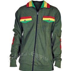 Rasta Olive Green Jacket – Men's
