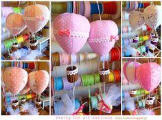 Το τυχερό κουμπί: Pretty hot air balloons!