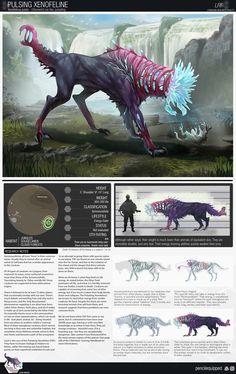 Monster Concept Art, Alien Concept Art, Creature Concept Art, Fantasy Monster, Monster Art, Mythical Creatures Art, Alien Creatures, Creature Feature, Creature Design