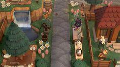 Animal Crossing Pocket Camp, Animal Crossing Game, Water Puddle, Tree Bed, Folk, Cedar Trees, Best Friends Forever, Ring Verlobung, New Leaf