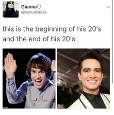 Wtf Brendon>>isthat a good what yhe duck like how? But yes...WHAT THE HECK HE IS ACTUALLY SATAN HE HASNT CHANGED