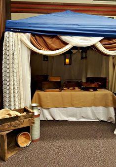 A night in Bethlehem- fruit booth