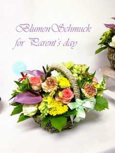 flowerbasket for Parent's day