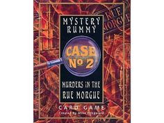 Bought. Mystery Rummy: Murders in the Rue Morgue | Image | BoardGameGeek