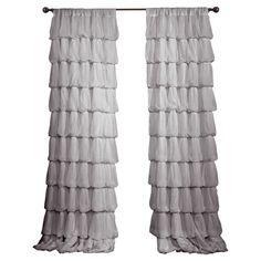 Claudine Rod Pocket Single Curtain Panel