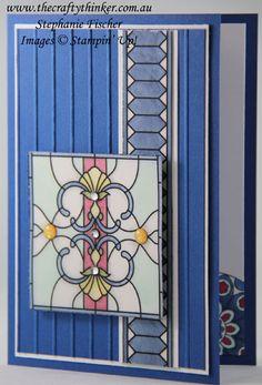 www.thecraftythinker.com.au, Sneak Peek, 2018 Annual Catalogue, Graceful Glass Vellum, In-colour, Stampin' Up