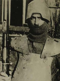 WW1 body armor Italia