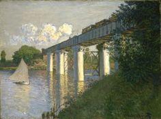 Railroad Bridge, Argenteuil, 1874.