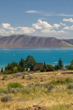 Enjoy the Startlingly Blue Lake! But... Beware of the Bear Lake Monster!
