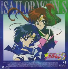 sailor jupiter and sailor mercury