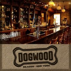 "Dogwood Bar & Restaurant, 47 E Main St, Beacon, NY ""At Dogwood, we're all about the simple comforts of life. Hudson Valley Restaurants, Ny Restaurants, Places To Eat, Great Places, Beautiful Places, Beacon New York, Music Events, Live Music, Restaurant Bar"
