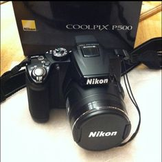 My Nikon my hubby got me for Christmas...much better than my old cheap Cannon ;)