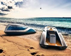 Strand Craft, a luxury yacht builder, introduces its latest creation: Strand Craft V8 Wet Rod Personal Watercraft.