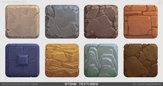 ArtStation - Texture practice, Alena Medovnikova