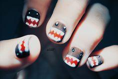 Nails @Kaitlyn Marie Marie Russo SHARK WEEK NAILS @Dawn Cameron-Hollyer Cameron-Hollyer Healy