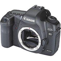 Canon EOS 5D Mark II Full Frame DSLR Camera (Body Only) (OLD MODEL) : Camera & Photo