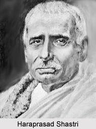 Haraprasad Shastri