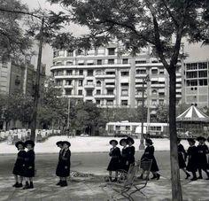 El Paseo del Pintor Rosales en 1955.